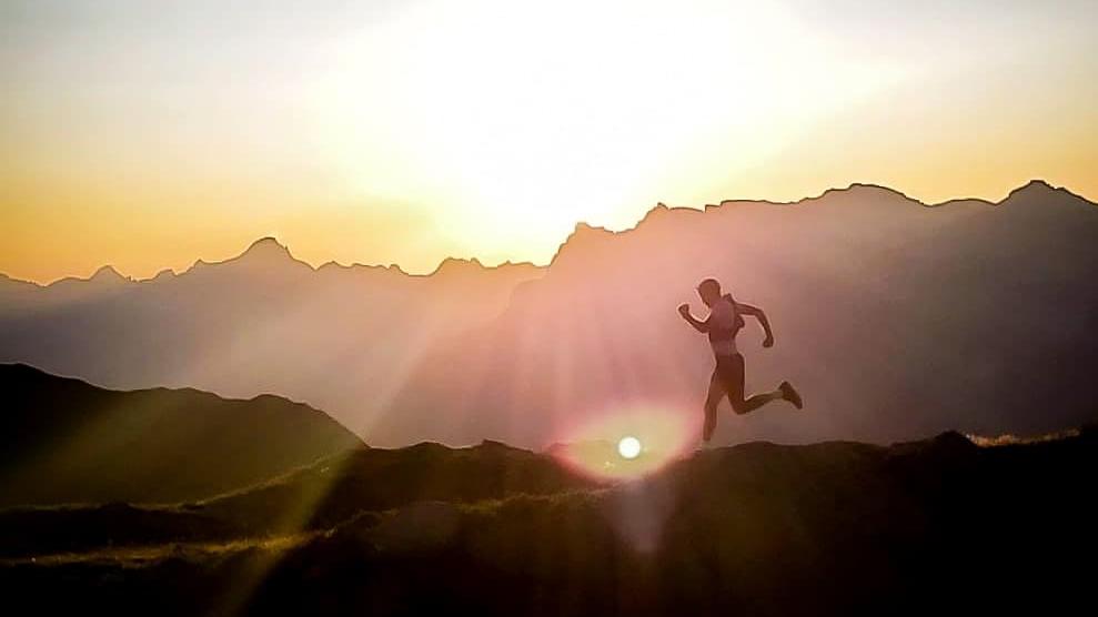 Mathieu Blanchard a terminé son entraînement pour la CCC dans les Alpes - Photo courtoisie