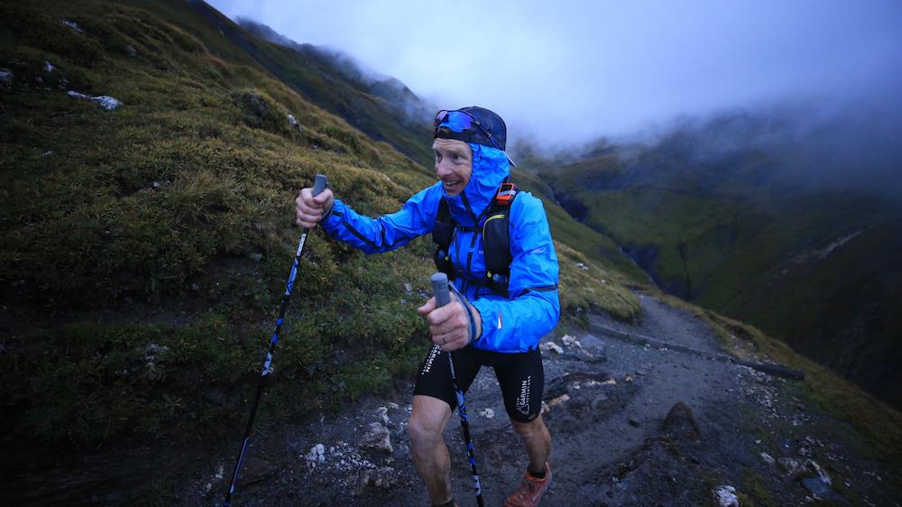 Sur le parcours dans les Alpes - Photo : Ultra-Trail du Mont-Blanc