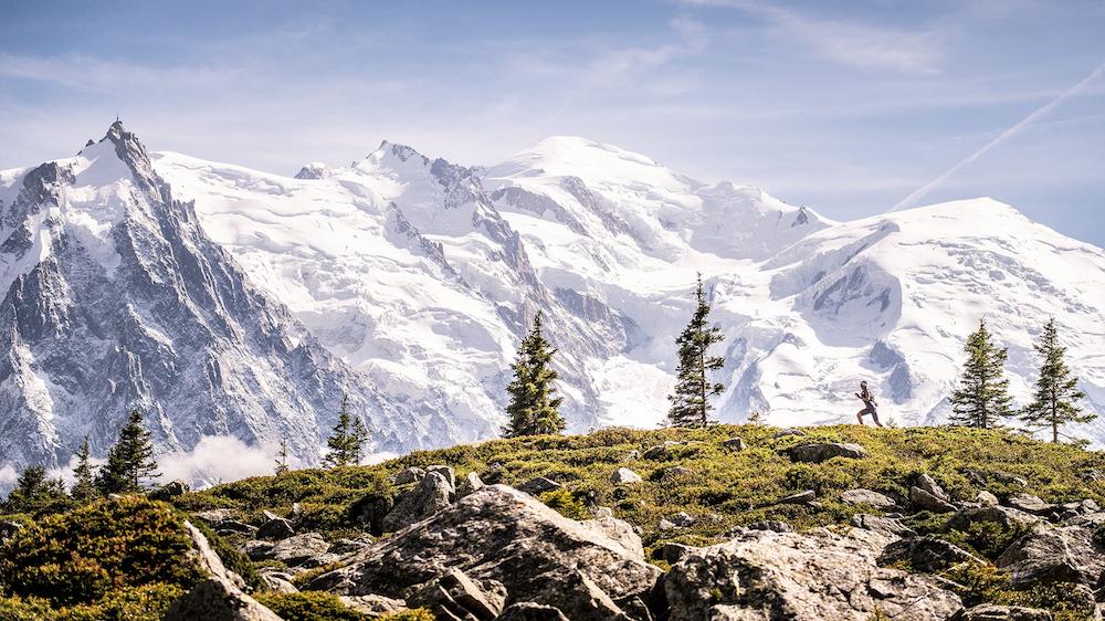 L'UTMB offre des paysages que l'on ne retrouve définitivement pas au Québec! - Photo : Ultra-Trail du Mont-Blanc