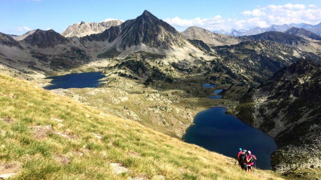 Sur le parcours du Tour des lacs du GRP - Photo : Annie-Claude Vaillancourt