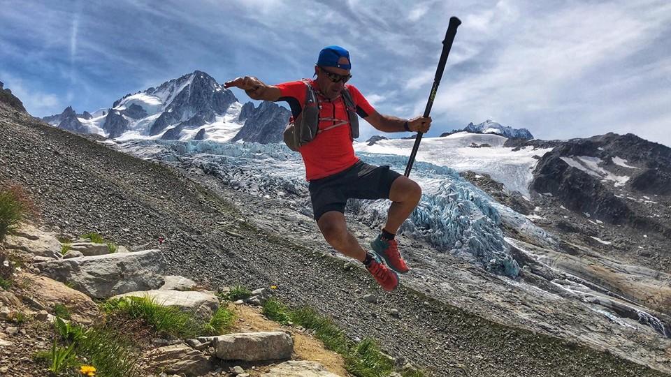 Denis Clerc transporte sa joie de vivre et de courir dans tous ses voyages - Photo courtoisie