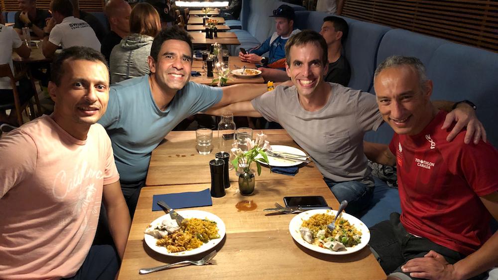 Ahmid, Oliver, Olivier et Kamal - Photo : courtoisie