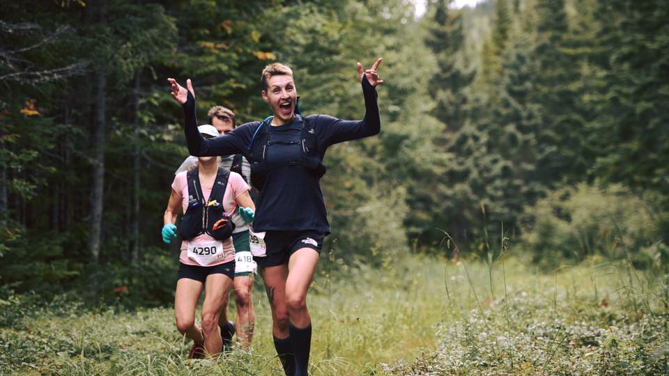 Rachel Paquette - Photo : Ultra-Trail Harricana