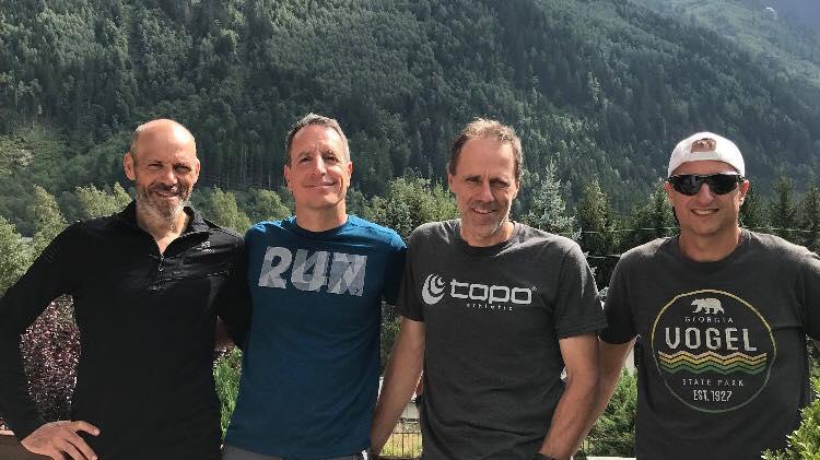 Richard Turgeon, Éric Deshaies, Benoit Létourneau et Guy Doiron