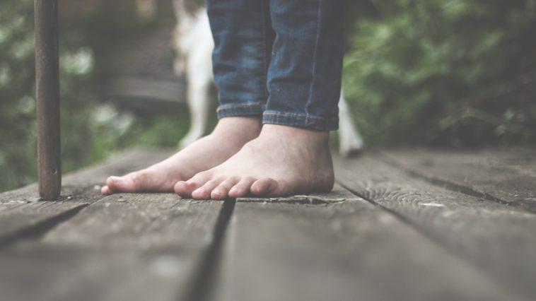 Des pieds