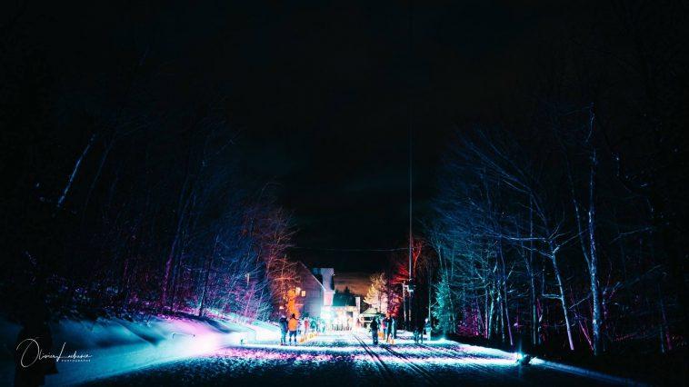 Trail de la nuit polaire