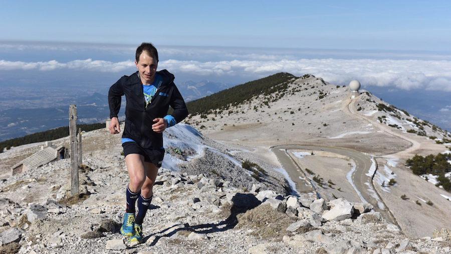 Le Français Nico Martin a terminé 2e du Trail du Ventoux 2020, en dépit d'une blessure