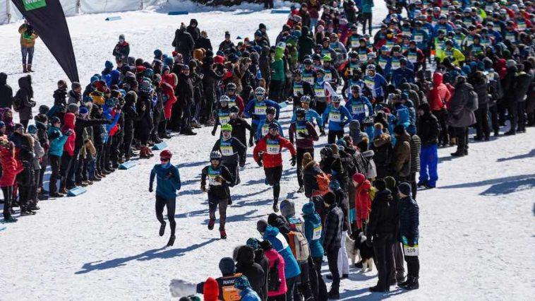 foule pentathlon spectateurs 2020 depart