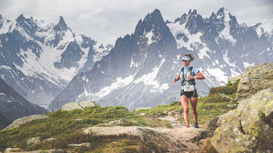 Audrey Tanguy a pris la 2e place du 90 km du Marathon du Mont-Blanc 2018