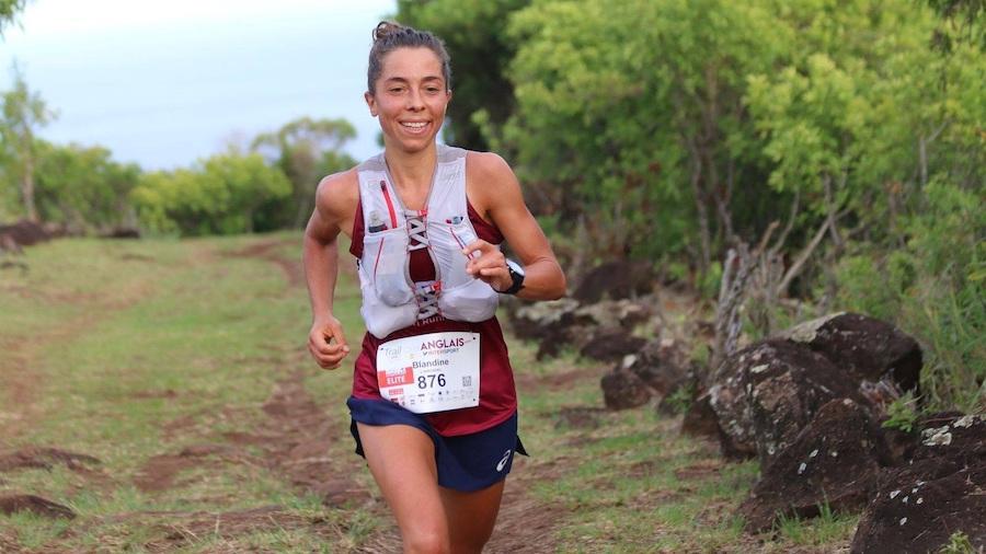 Blandine L'Hirondel a remporté le Trail des Anglais 2020