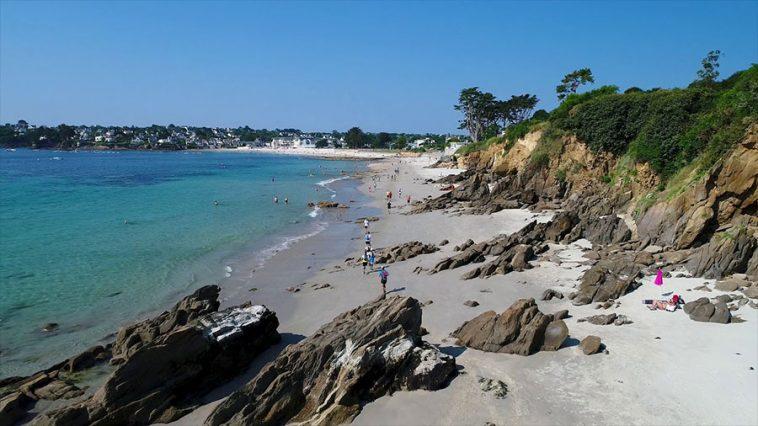 Sur le parcours du Trail du Bout du Monde en Bretagne