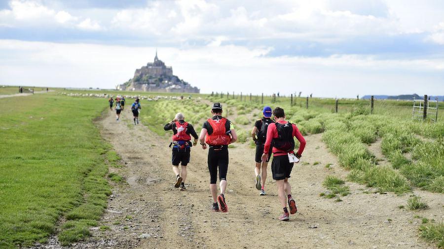 Au départ du Mont-Saint-Michel sur La Barjo