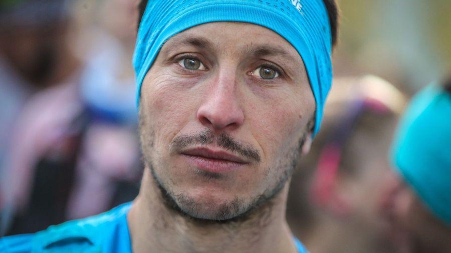 Le champion de trail français Nicolas Marti