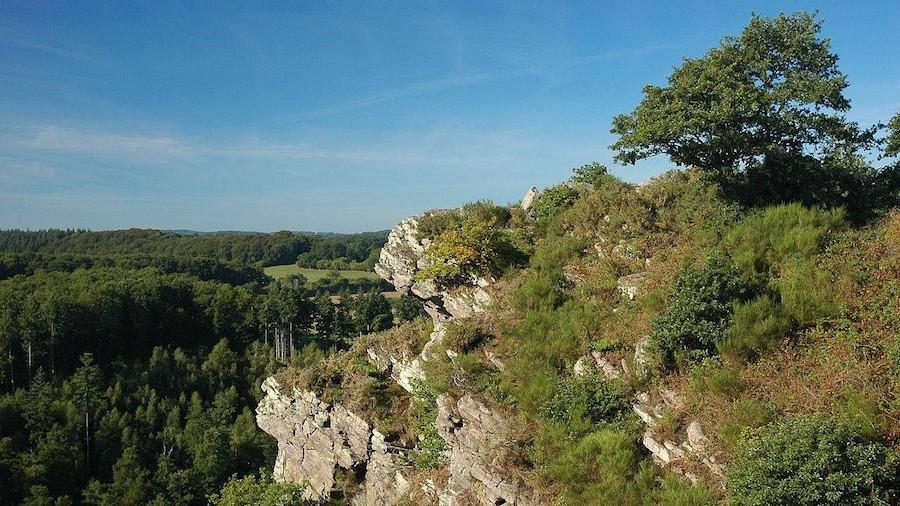 La Roche d'Oetre en Suisse normande