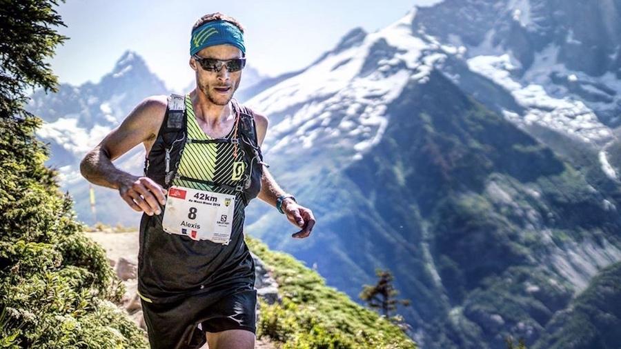 Alexis Sévennec au Marathon du Mont-Blanc