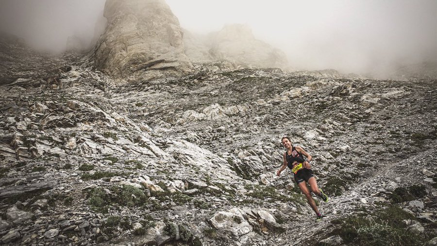 Anne-Lise Rousset-Séguret a remporté son seul trail de 2020 - Photo Cyrille Quintard