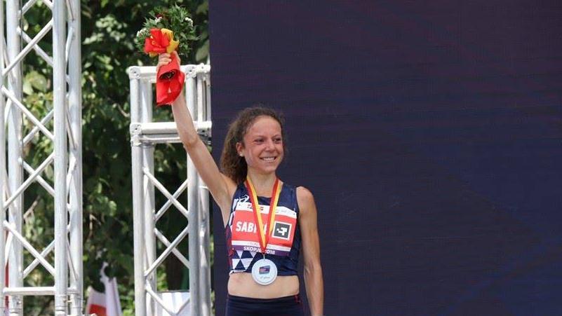 Anaïs Sabrié a été sacrée vice-championne d'Europe de course en montagne en Espagne en 2018