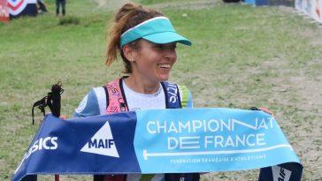 Sarah Vieuille est redevenue championne de France de trail en 2019 après sa victoire au Trail de Méribel (51 km, mD+)