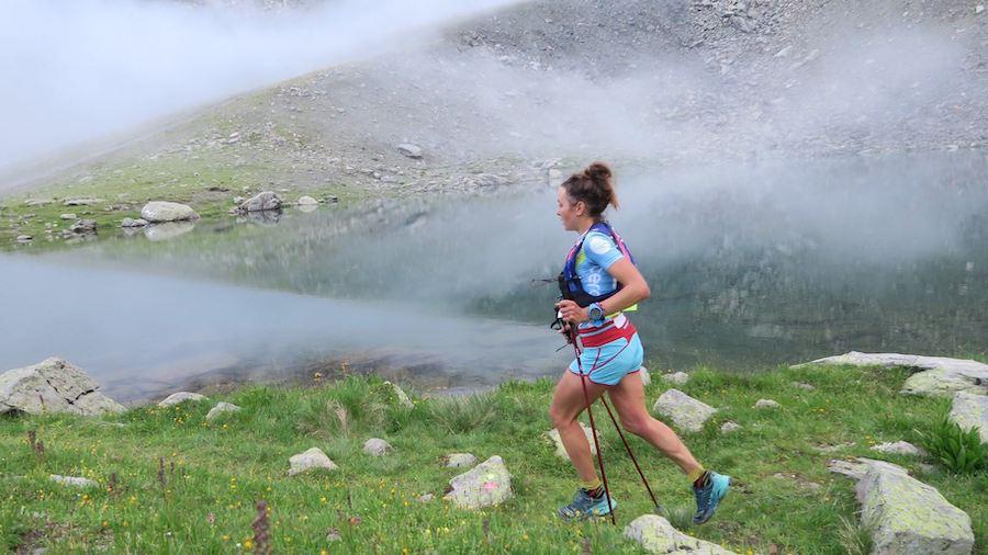 Sarah Vieuille a remporté le championnat de France de trail 2019 à Méribel (51 km, mD+)