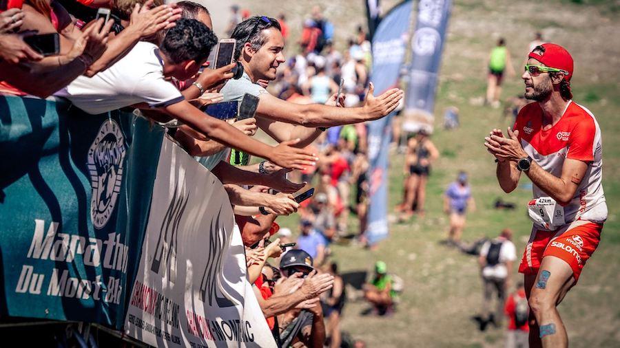 Thibaut Baronian tente depuis plusieurs années de gagner le Marathon du Mont-Blanc