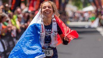 Blandine L'Hirondel a remporté le championnat du monde de trail 2019 au Portugal