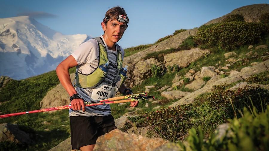 Xavier Thévenard est un redoutable coureur sur les sentiers autour du Mont-Blanc