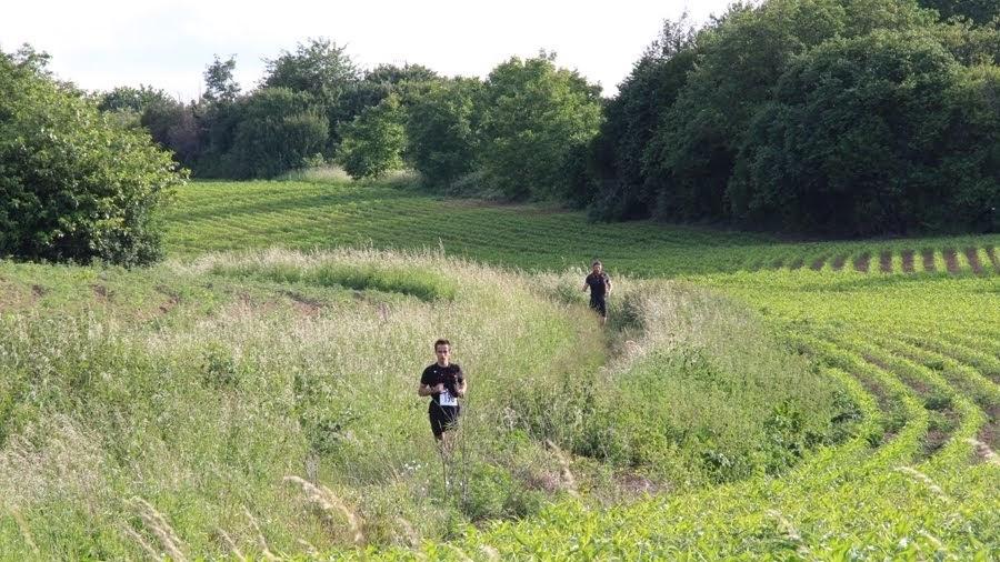 Sur le parcours du Castor Fou, dans l'Essonne