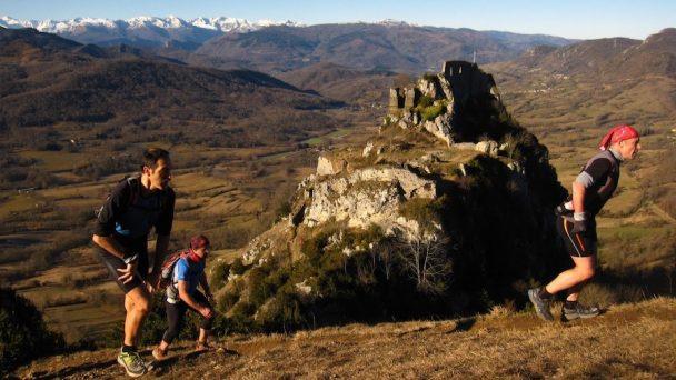 Le Trail des Citadelles et sa vue sur la chaîne des Pyrénées
