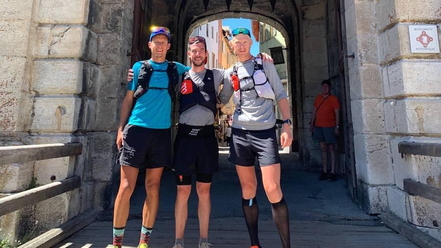 Martin kern, Baptiste Robin et Greg Curmer (de gauche à droite
