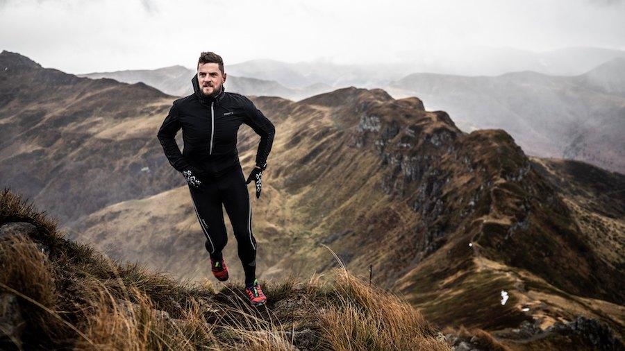 Nahuel Passerat à l'entraînement dans les Pyrénées