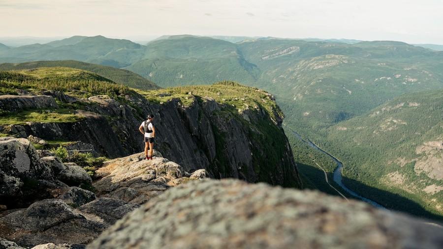 La contemplation fera partie du défi de Mathieu Blanchard dans l'environnement exceptionnel qu'offre la Gaspésie