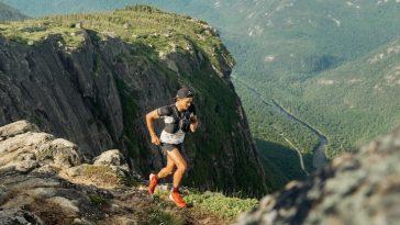 Mathieu Blanchard s'est notamment entraîné dans le parc des Hautes Gorges de la rivière Malbaie