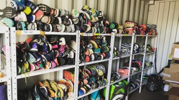 chaussures recyclées