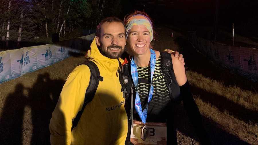 Guillaume Barry et Emily Hawgood