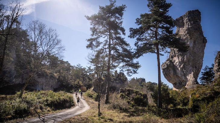 trail de la cité de pierres