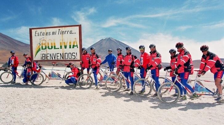 Philippe Cordero a organisé le raid multisports Boliviana – Photo : Phillippe Cordero