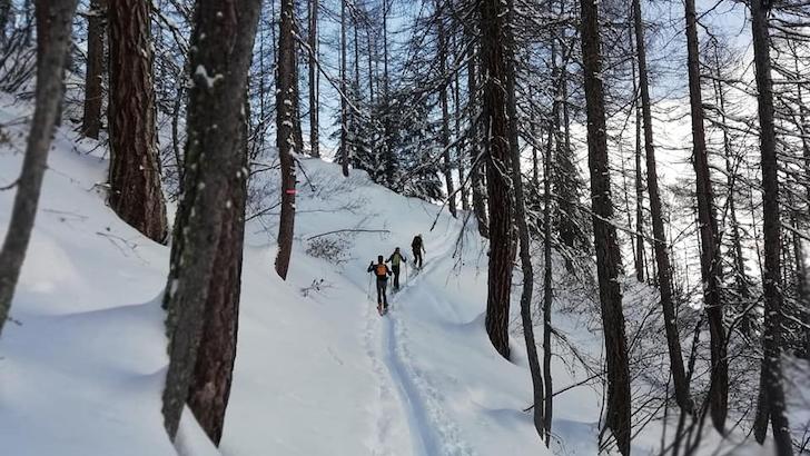 Suzanne Lefrançois Couturier ski de randoæ©