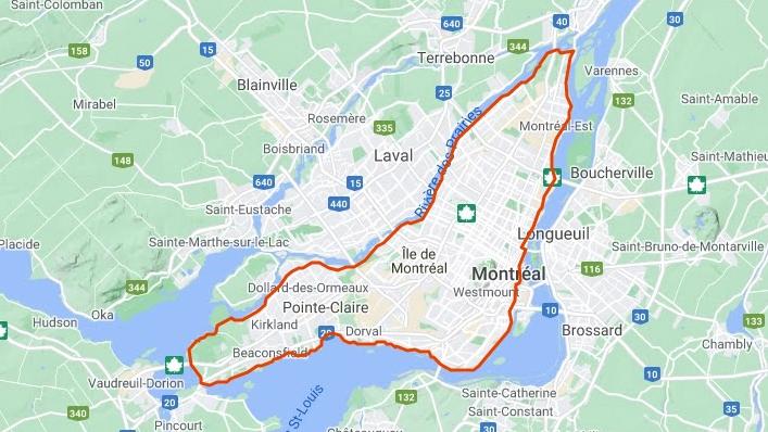Strava Montréal