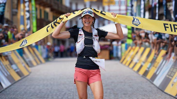 Camille Bruyas au Lavaredo Ultra-Trail