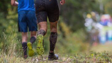 trail course pieds